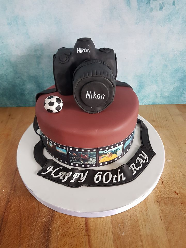 Magnificent Camera Cake Just So Sweet Funny Birthday Cards Online Barepcheapnameinfo